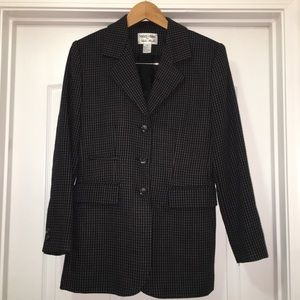 Focus 2000 Charles Wueck Wool Jacket Coat Size 6